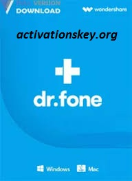 Wondershare Dr Fone toolkit for iOS and Android 10.0.12.65 Crack